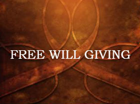 Free will giving