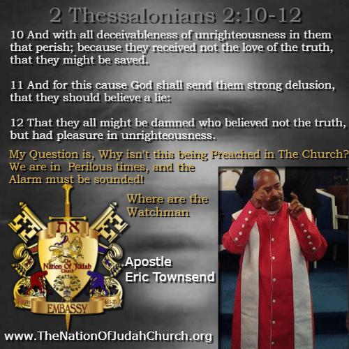 2 Thessalonians 2-10-12