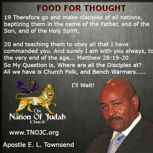 Go and Make Disciples TNOJC