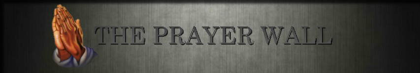 TNOJC PRAYER WALL