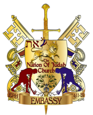 The Nation of Judah Embassy Crest only 300